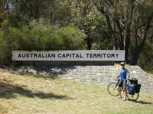 At teh Border of the Australian Capital Territory